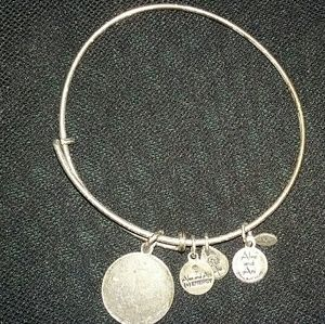 """ALEX AND ANI Jewelry - ALEX and ANI FABULOUS Initial """"D"""" Bracelet LOVELY"""